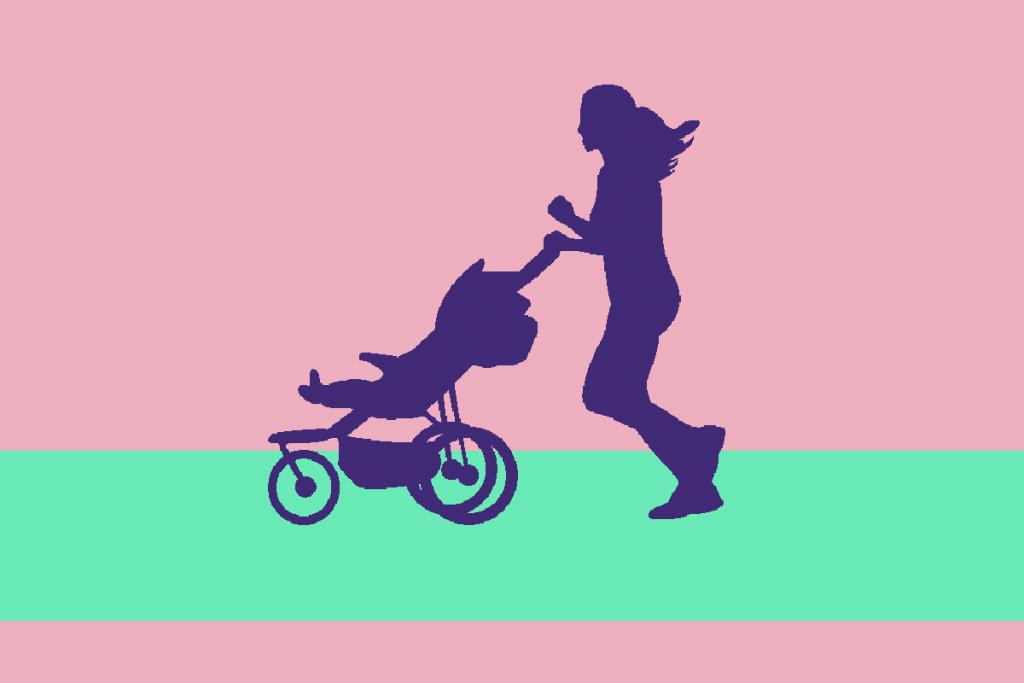 trcanje s djecjim kolicima