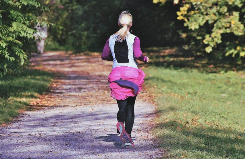zena trci nakon poroda