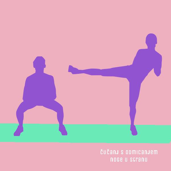 vježba za dijastazu - 3